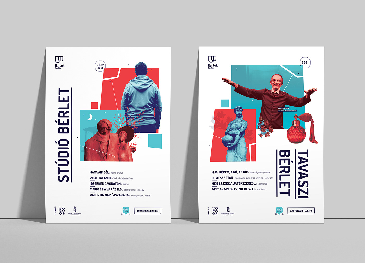 Booklet brochure flyer season theater  Theatre