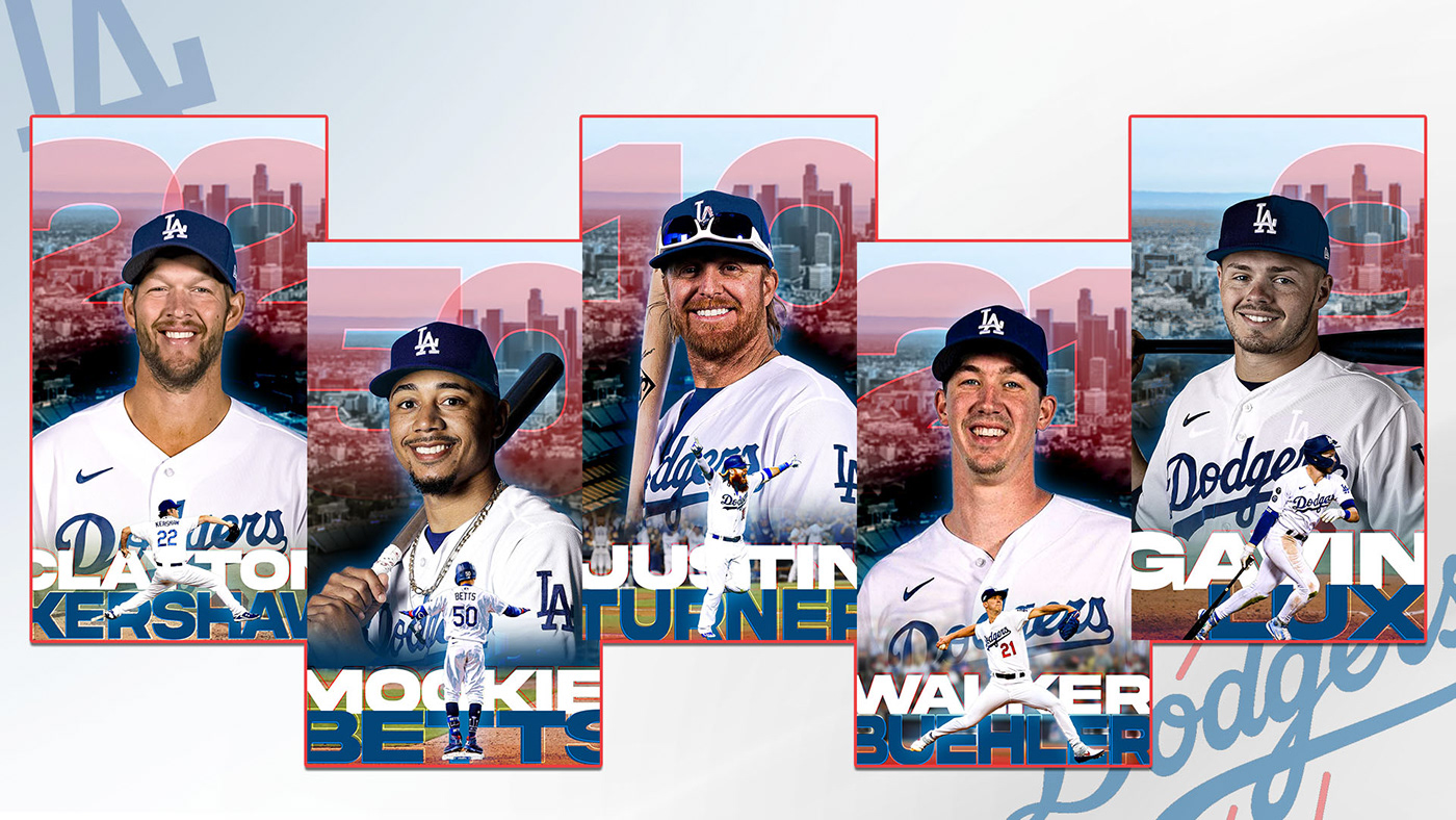 baseball dodgers iphone Los Angeles Dodgers sports art direction