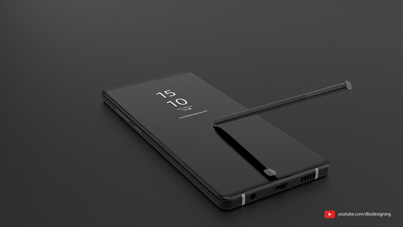 Galaxy Note 9 lộ thiết kế tuyệt đẹp, khai tử luôn cảm biến vân tay ở mặt sau