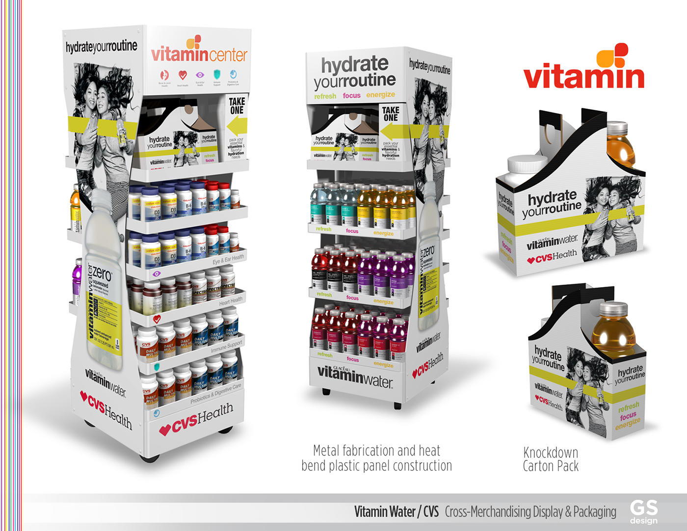 Packaging pop display branding  merchandising Point of Purchase graphics