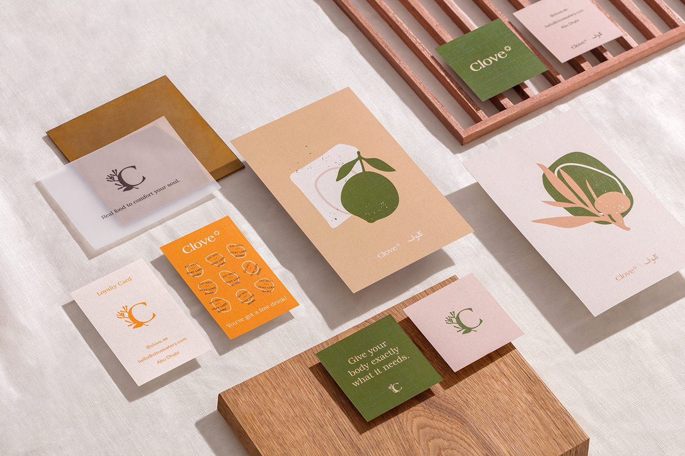 design brand art direction  graphic design  organic restaurant menu ILLUSTRATION  texture