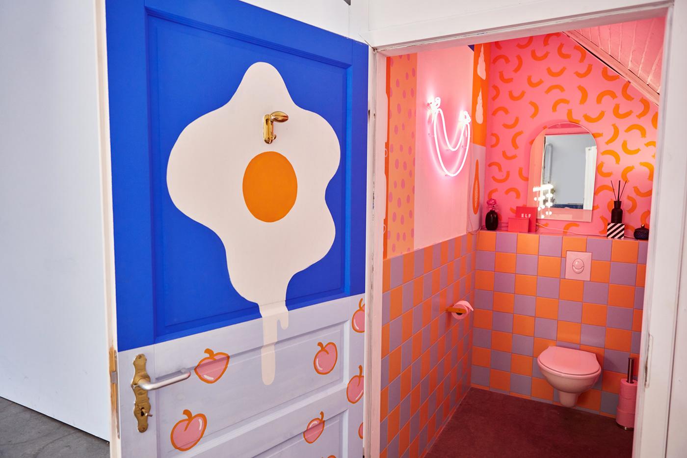 Image may contain: indoor, bathroom and floor