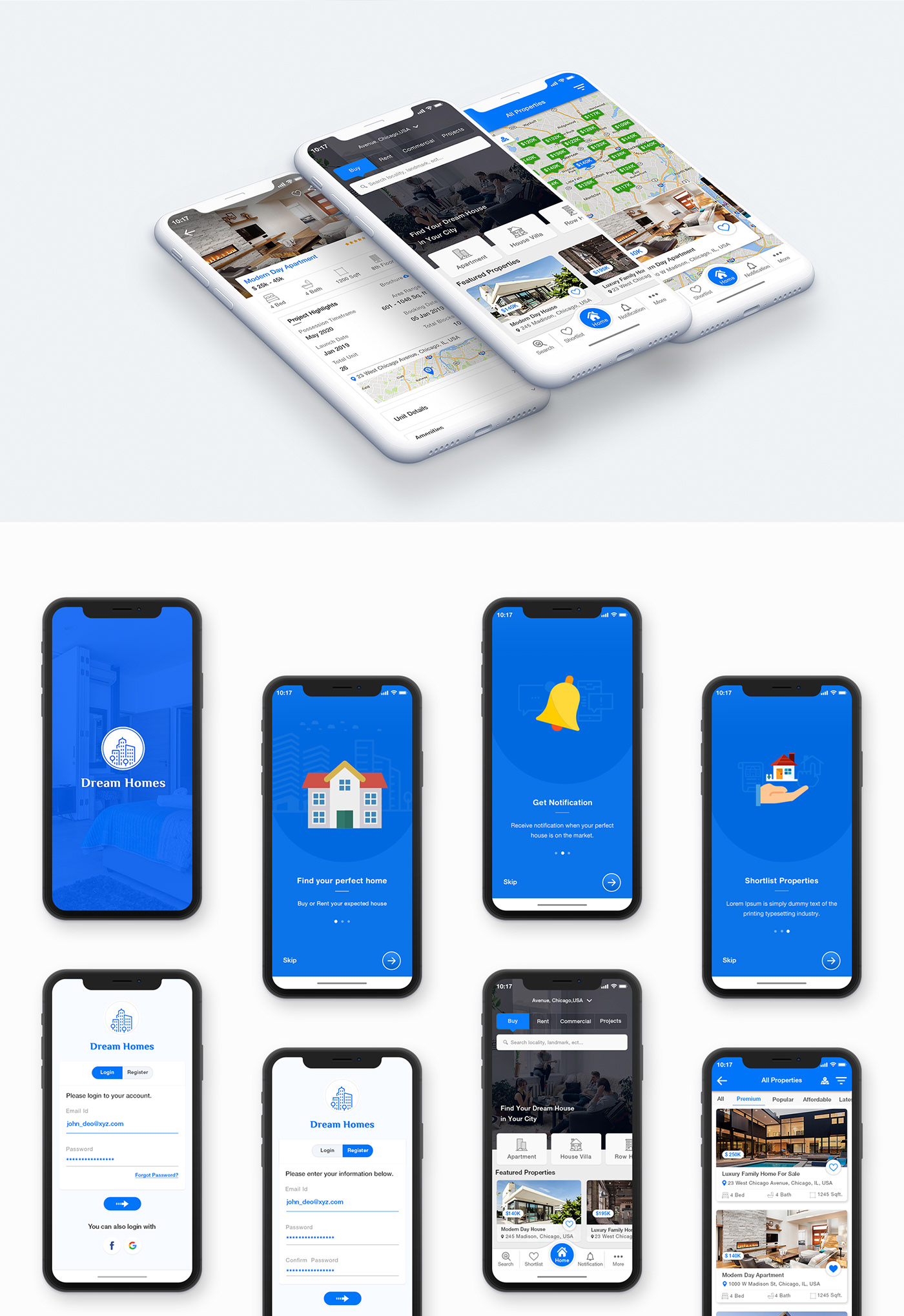 agency agent app house ios map property real estate realtor Rent