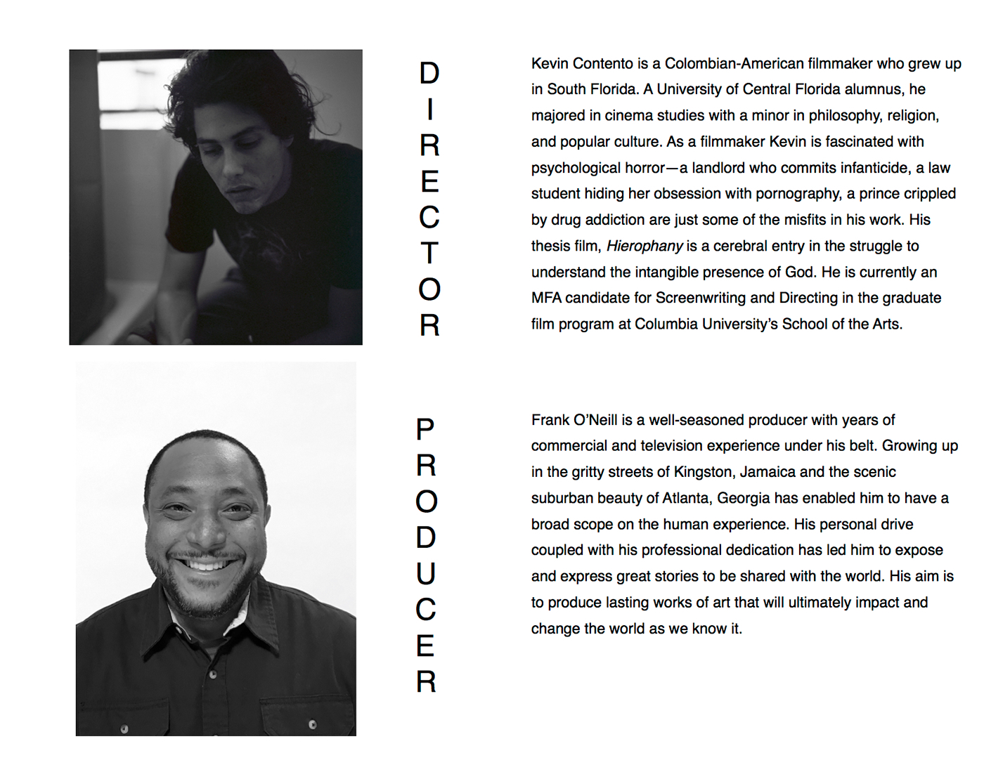 Dissertation documentary photography