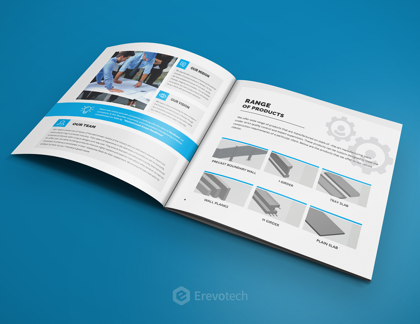 randhawa precast industry profile design