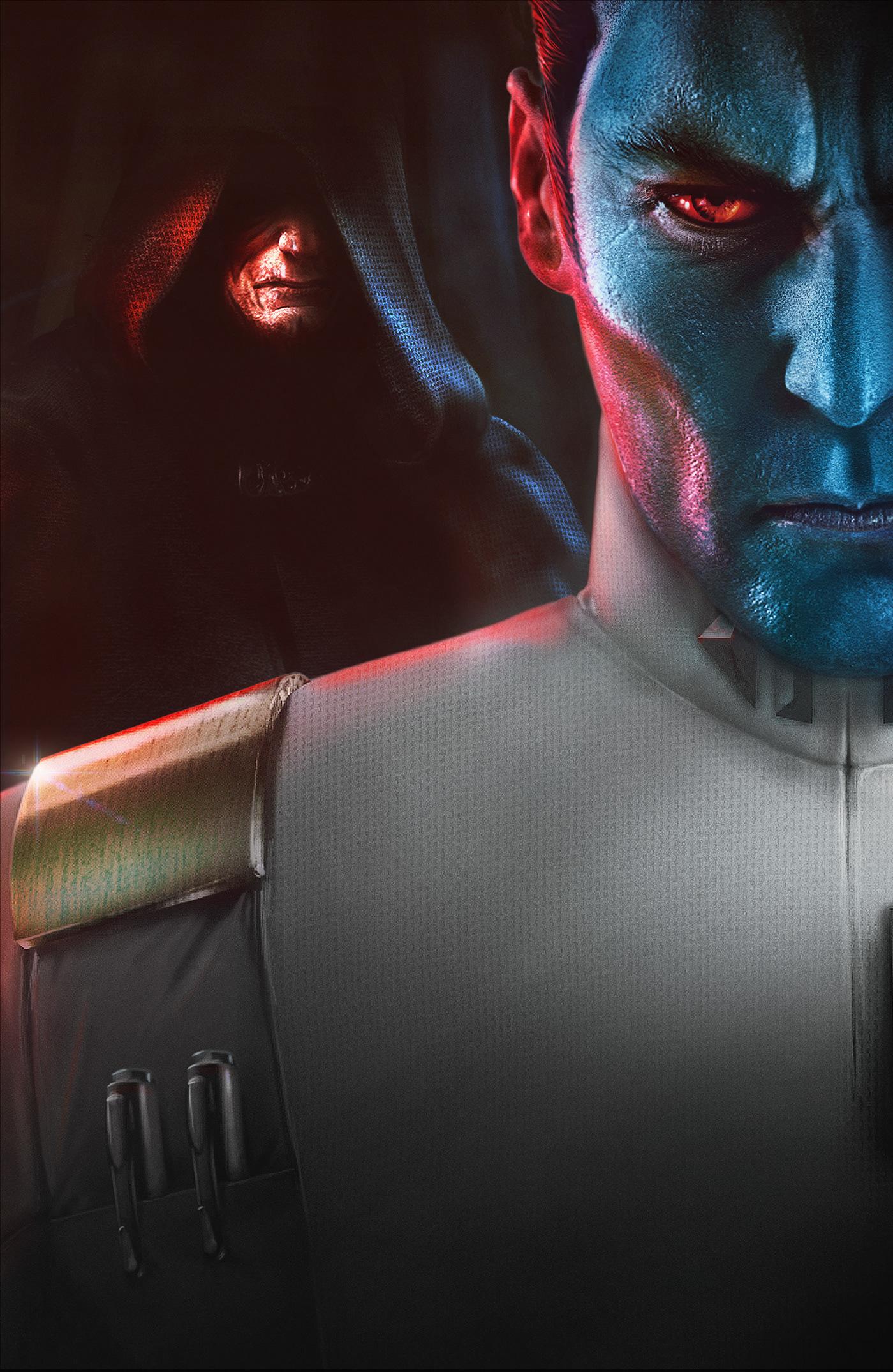 star wars palpatine emperor thrawn villain villains Dark side force book cover cover
