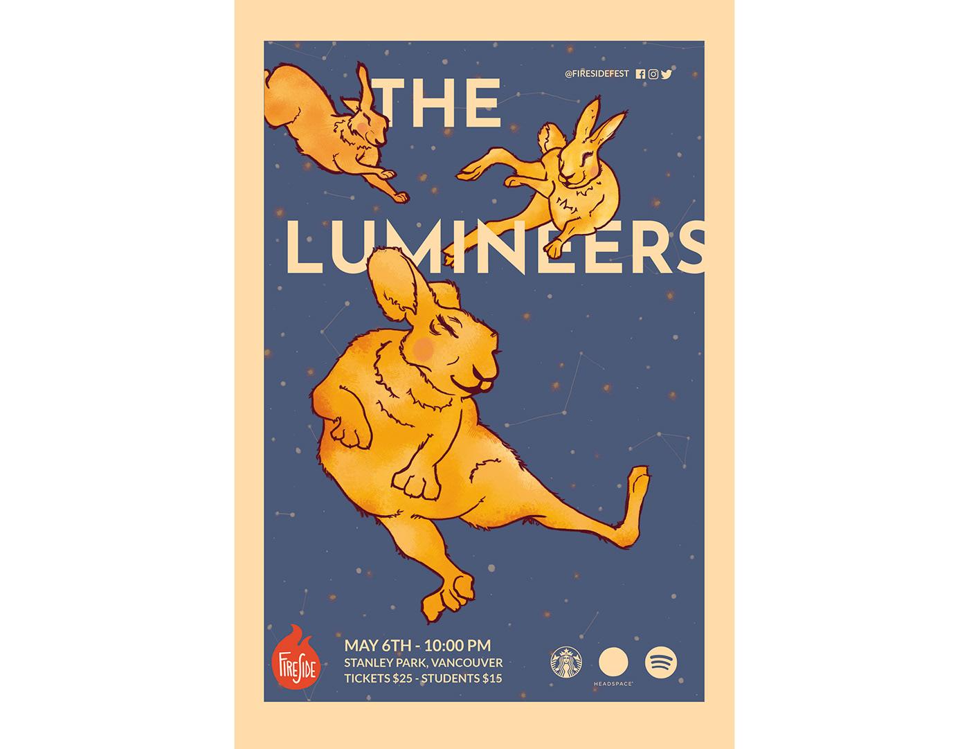 Ben Howard design emotion happiness ILLUSTRATION  Love Music Festival Roo Paynes Sadness the lumineers
