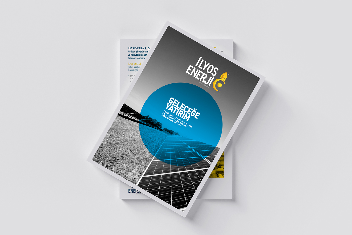 Energy Sector Financial Investment Logo Design visual identity Corporate Material Web Design  exhibition booth design print Turkey