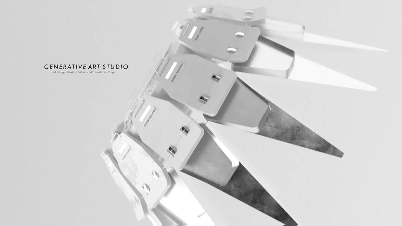 3dart 3dcg animation  art design motion motiondesign motiongraphics Scifi