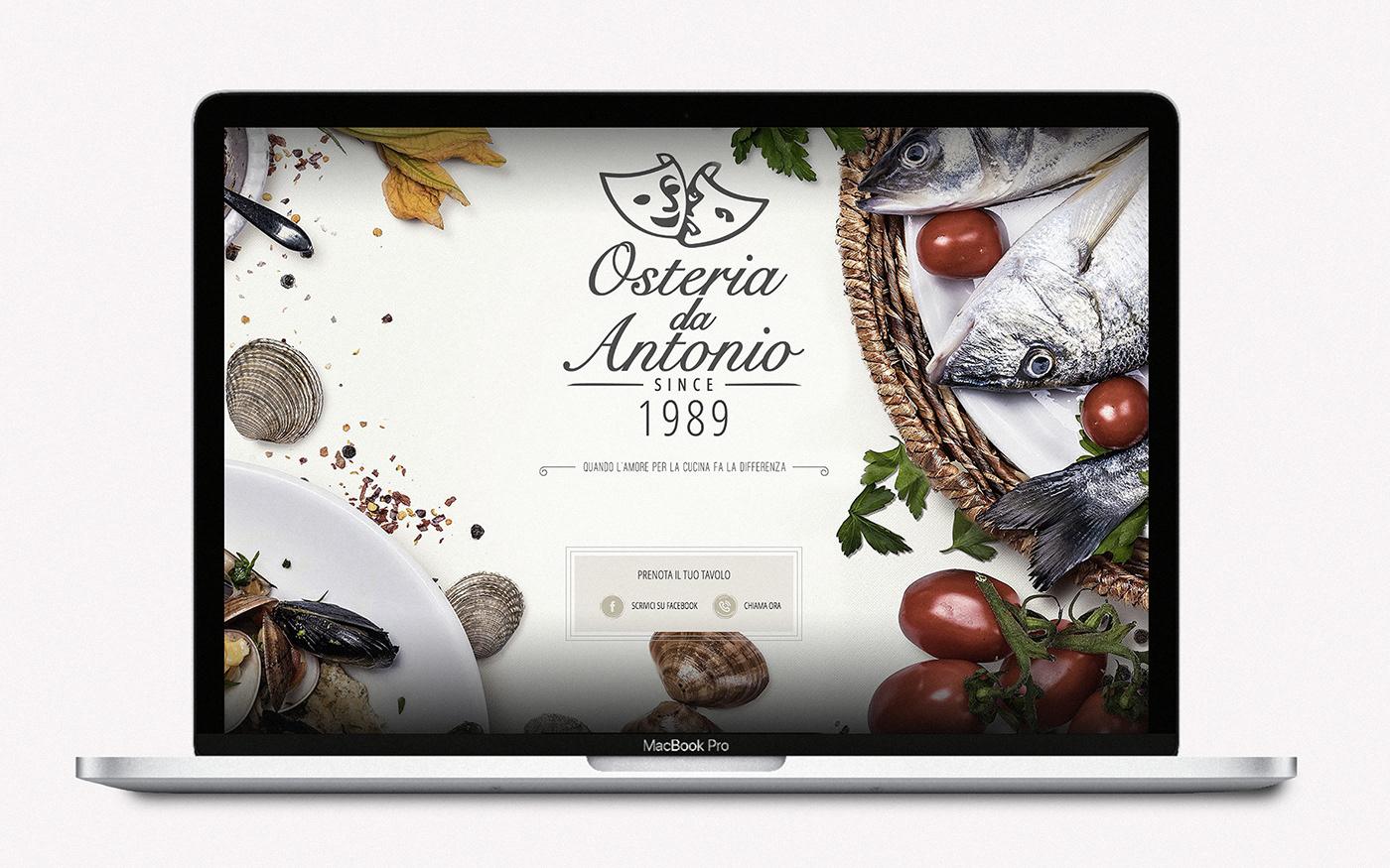 Rebrand Food  Webdesign logo Illustrator adobe ADOBEportfolio
