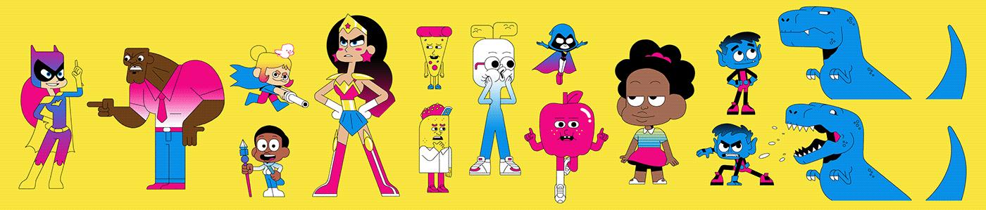 cartoon network,CN,animation ,broadcast,cartoon,Channel,design,redesign,refresh,tv