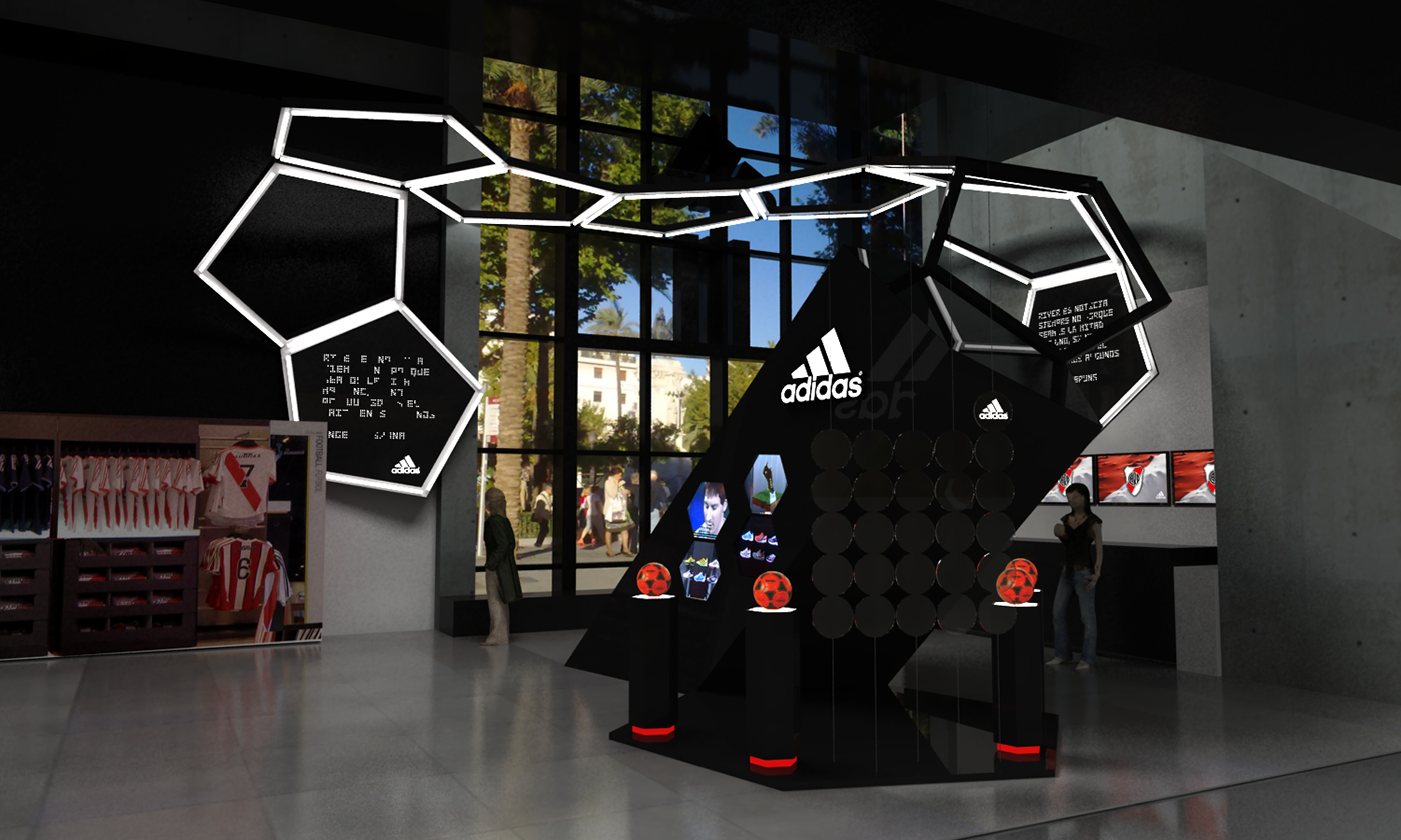 Adidas Store River Plate Project On Behance