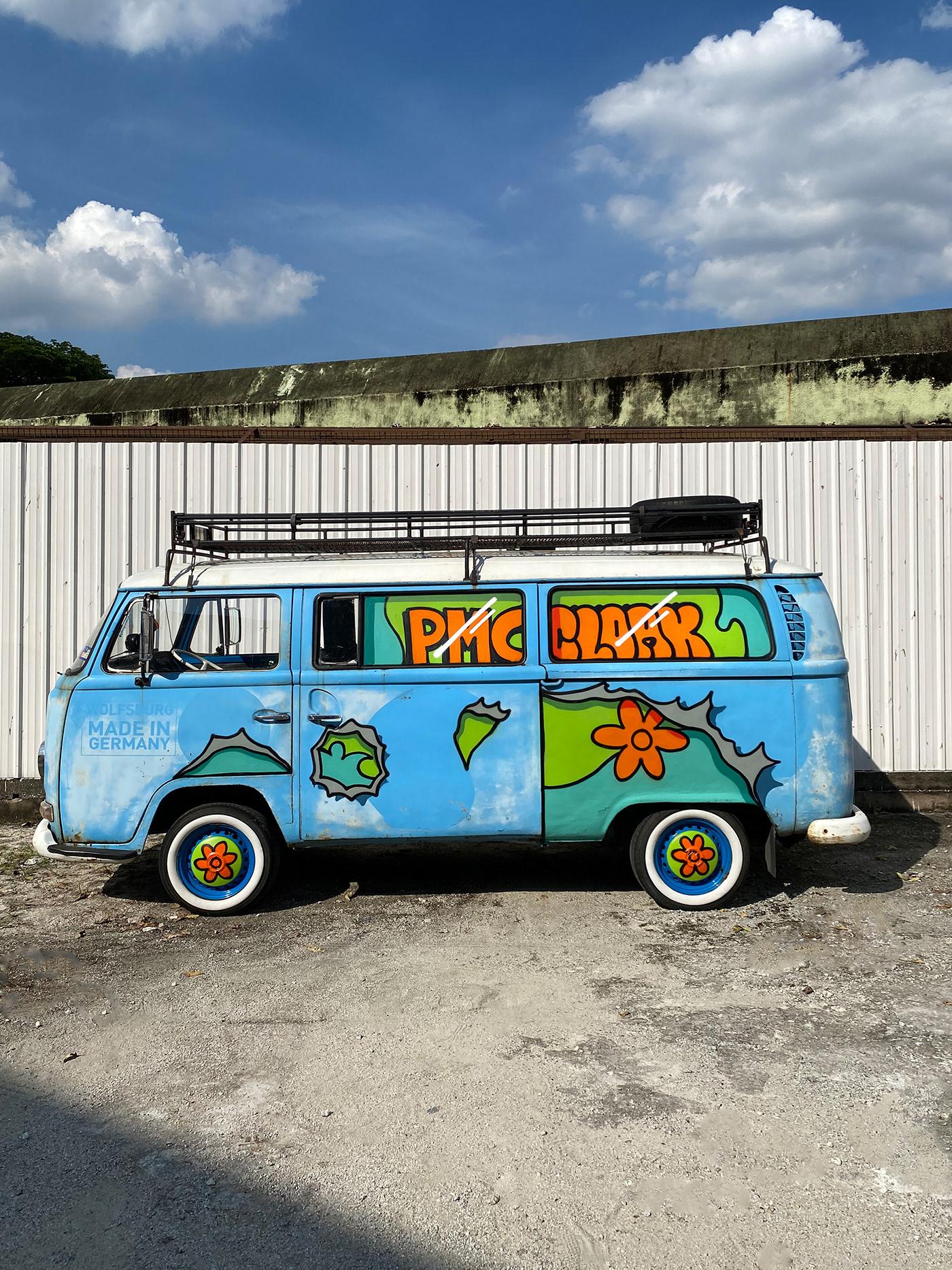 dog Graffiti hypebeast kombi kuala lumpur malaysia Montana Cans mystery machine scoobydoo volkswagen