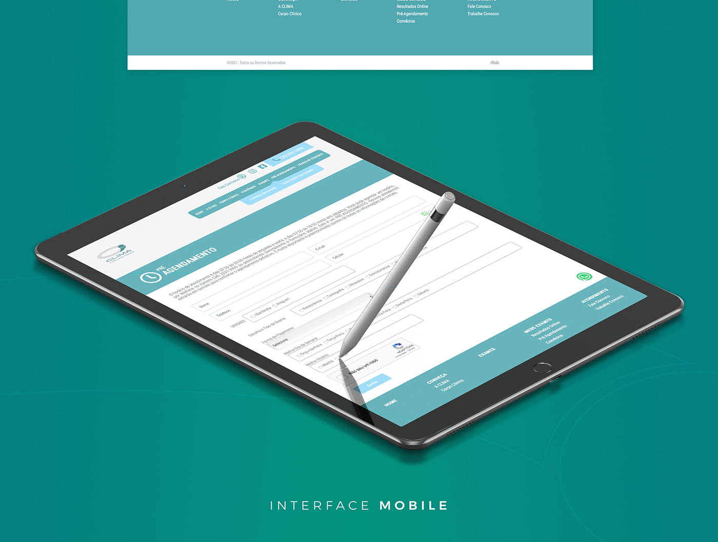 agencia cms frontend Layout site UI/UX ux/ui Web Website