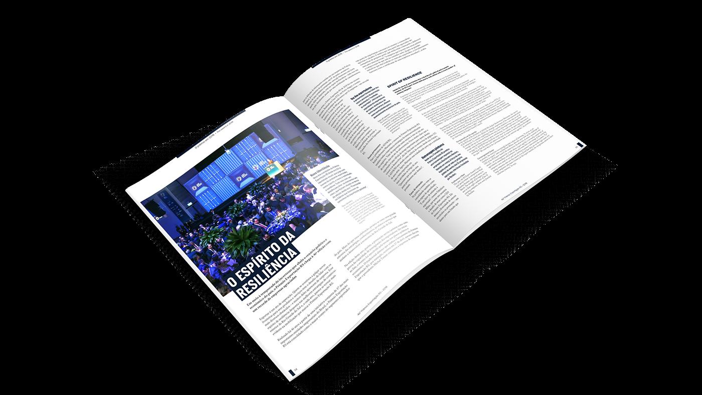 Capa diagramação design gráfico revista cover magazine