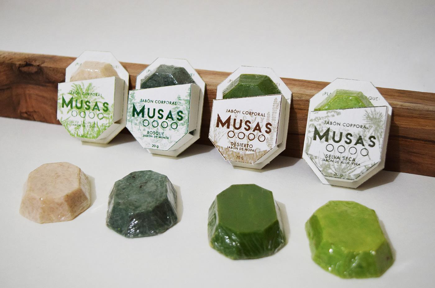 packagin sustentable soap mexico jabones bathroom clean