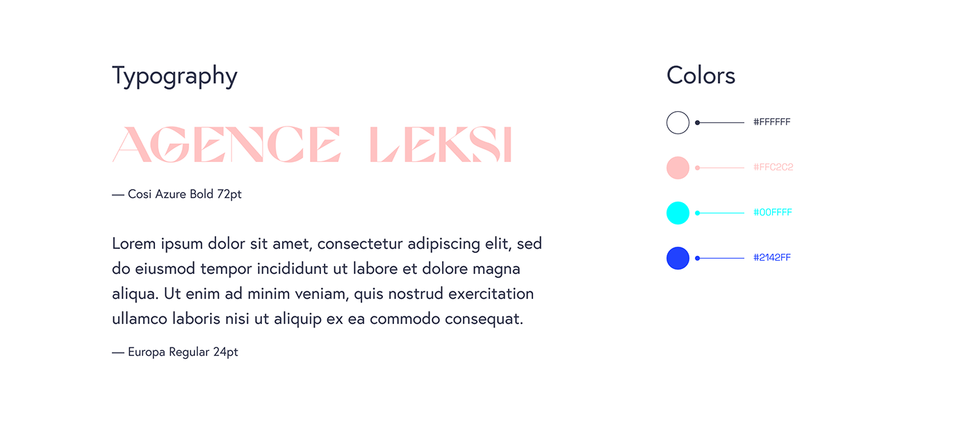 agency Green IT Layout modern typography   Website Corporate Design font Sustainable Design ui design