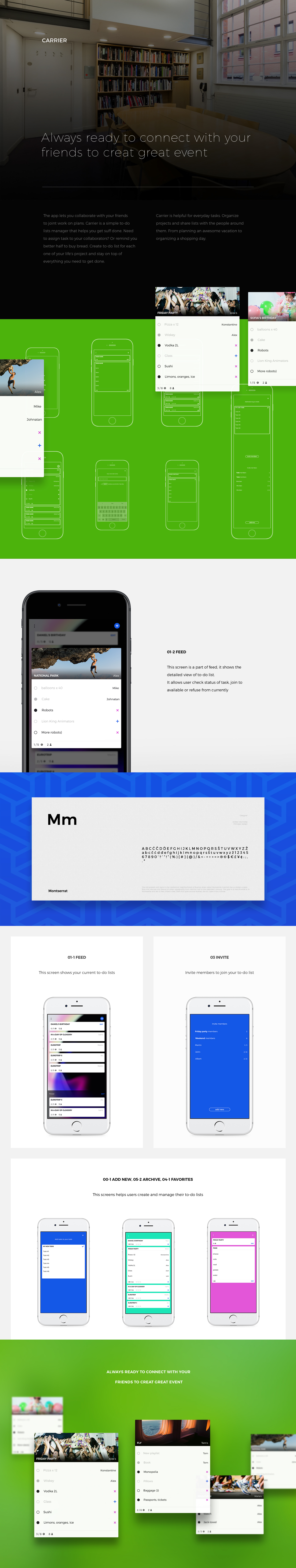 to-do UI ux mobile interaction list ios