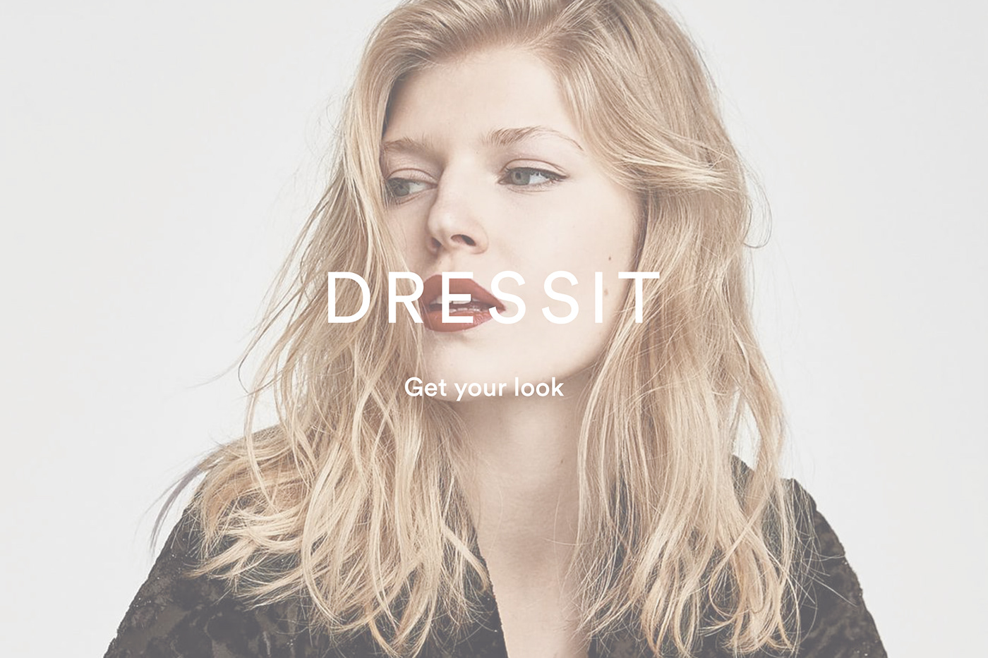 Logo Dressit, el primer y único shopping online de moda.