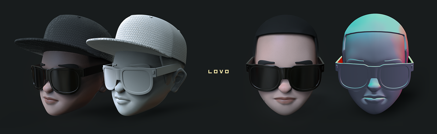 Emoji head daddy yankee daddy vfx CGI CON CALMA music 3D model track