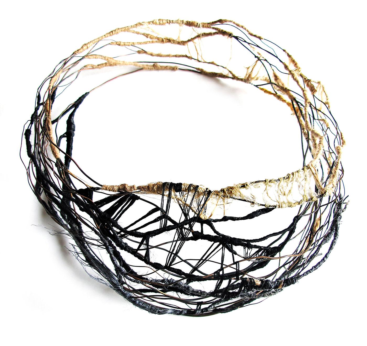 bracelet contemporary jewelery  contemporary jewelry earings joyeria Joyería contemporánea mabel pena Nature Necklace