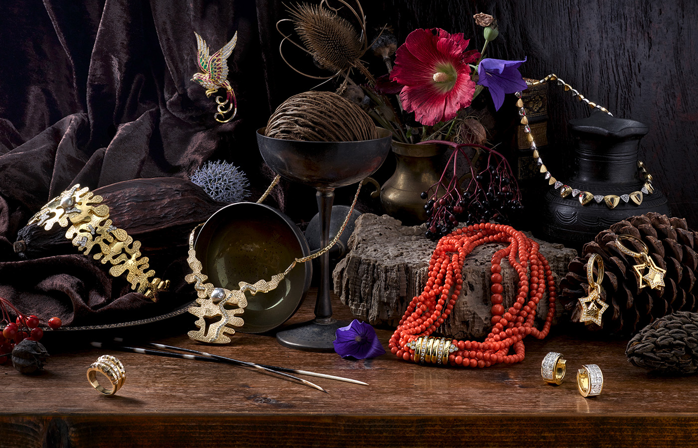 stillife jewelry styling