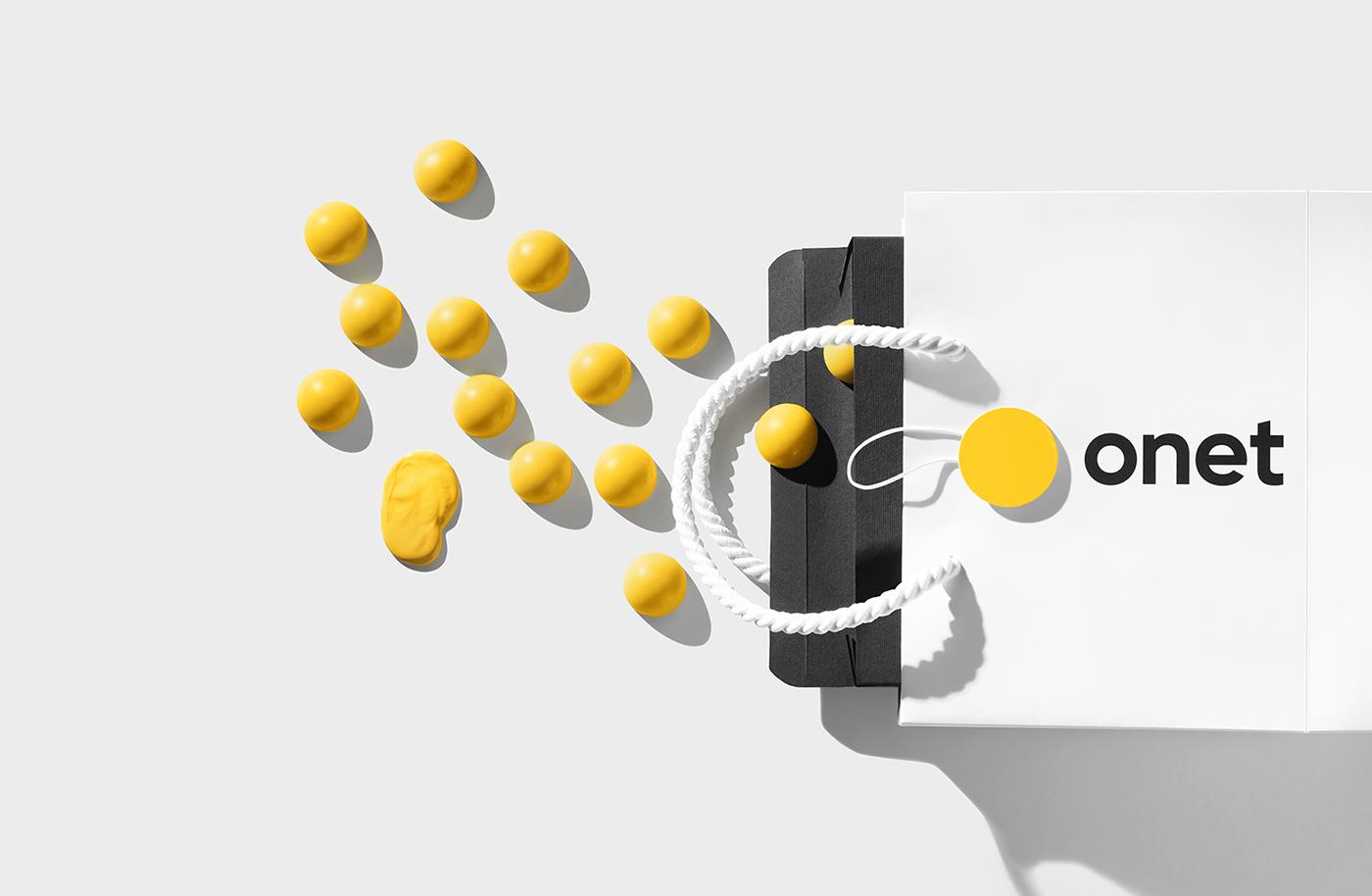 Brand Identity & Graphic Design: Onet