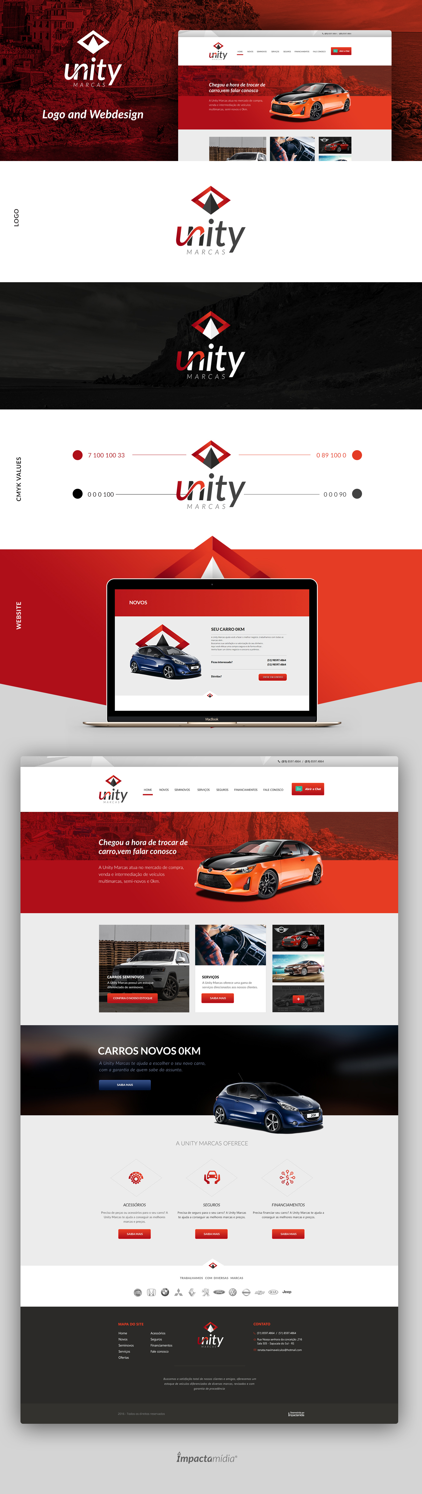 Webdesign orange Web Design  logo Logotype web site Web red gradient Cars