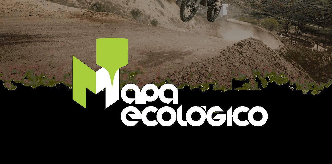 mapa ecologia fabrica de criação Mapa Ecológico marca Turismo roteiros turísticos