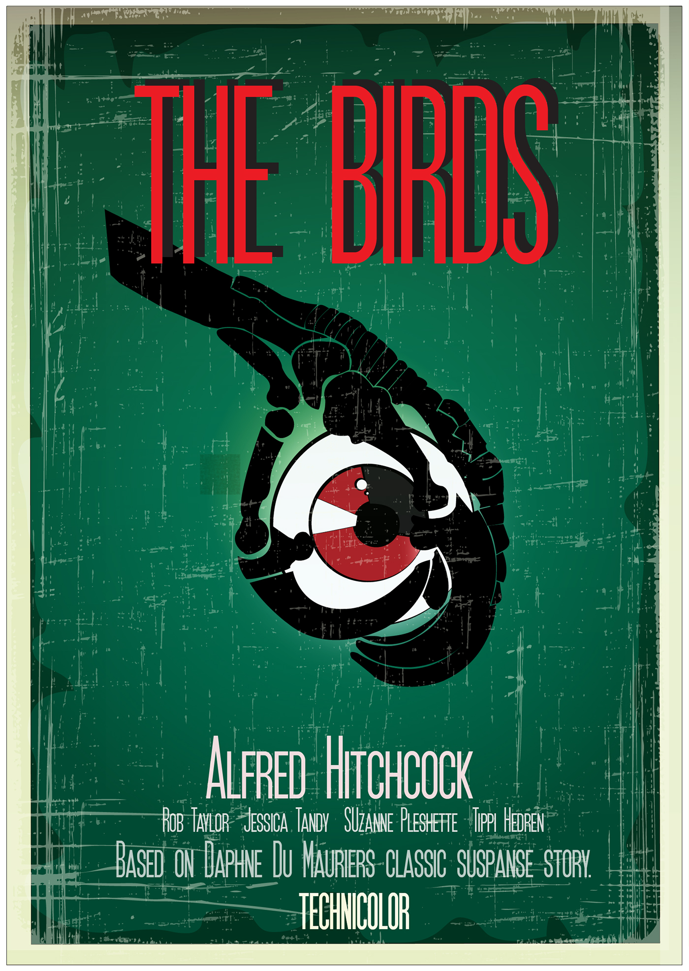 movie posters alfred hitchcock on behance