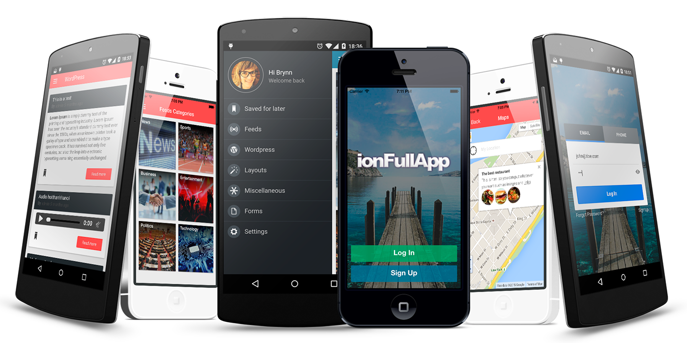 android cordova ionic ionic framework ionic themes ios mobile app ionic component
