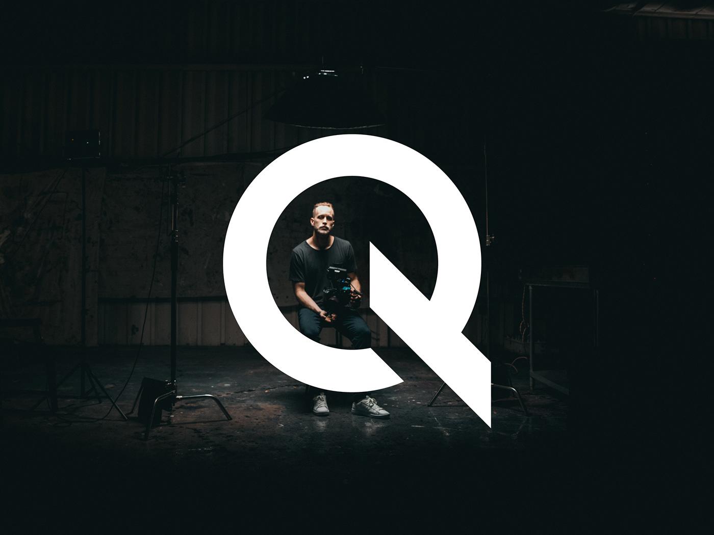 fire Logo Design logofolio Logotype mark modern q letter symbol typography   visual identity