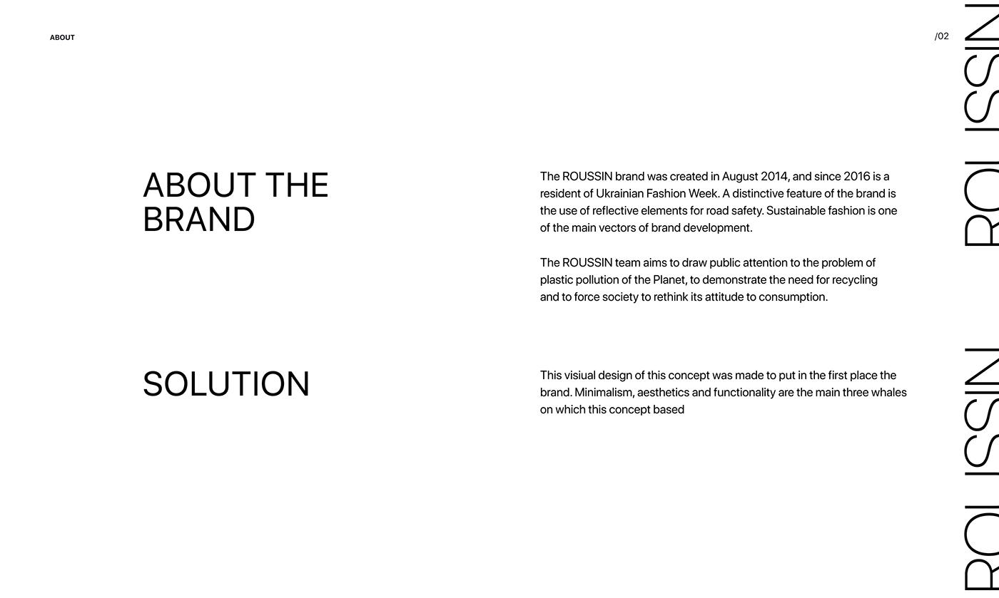 uidesign Webdesign Minimalism cleandesign Fashion  onlinestore logo Animationdesign