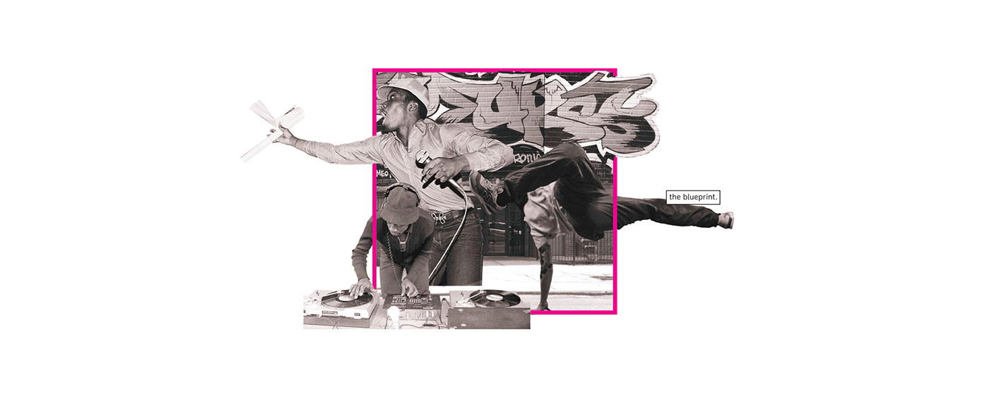 architecture thesis hip-hop Graffiti rap breakdance graphic design