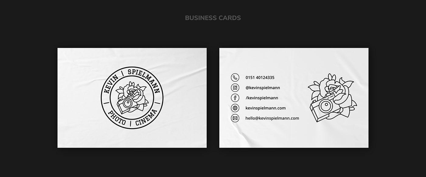 Kevin Spielmann // Business Cards