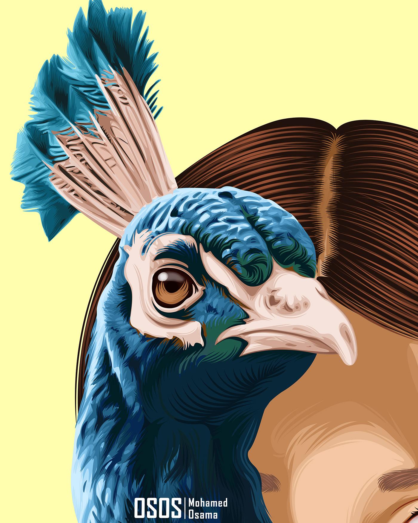 Image may contain: cartoon, bird and drawing