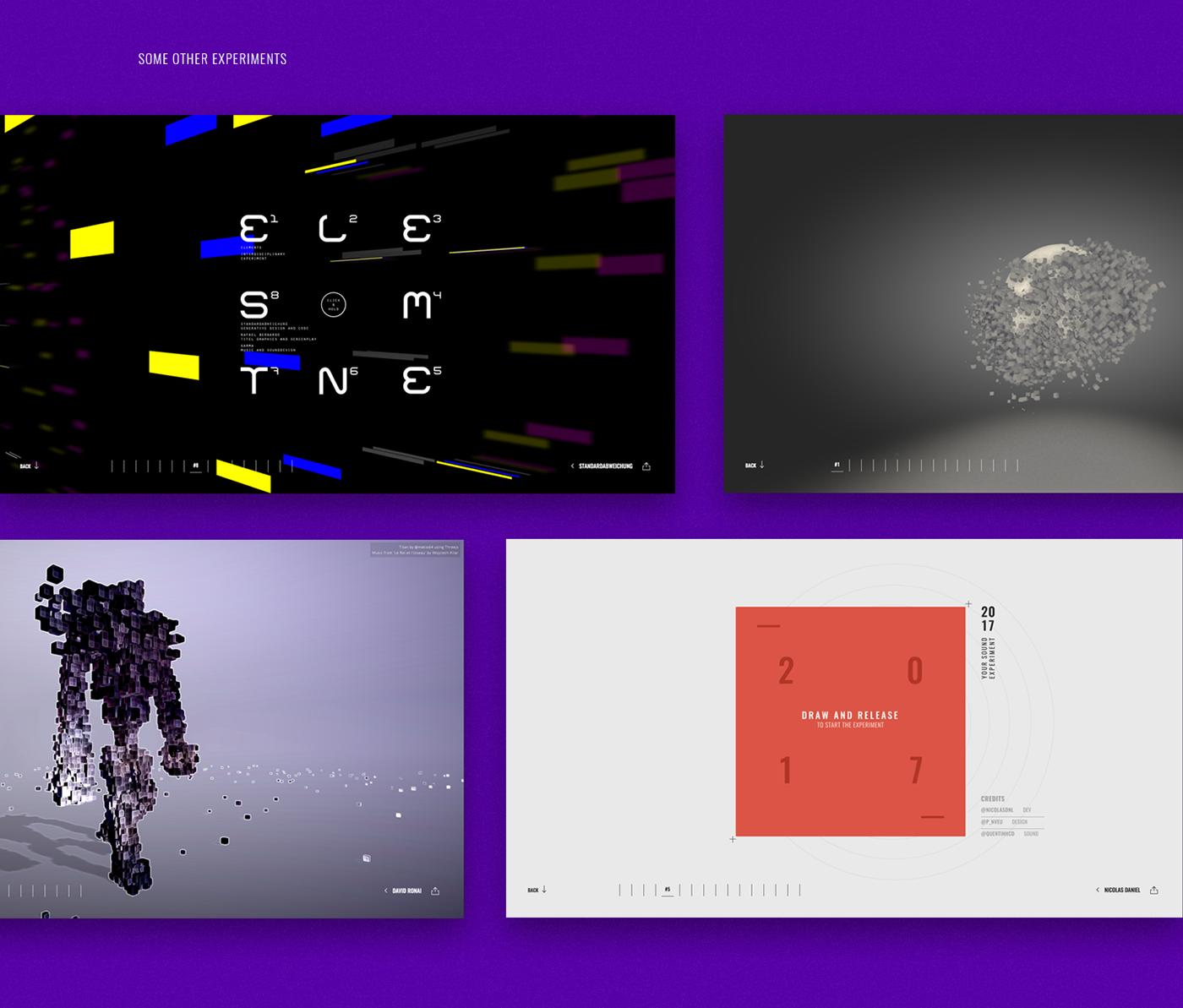 Digital Design Days DDD2017 webgl 3D Web Design  UI/UX design Developers