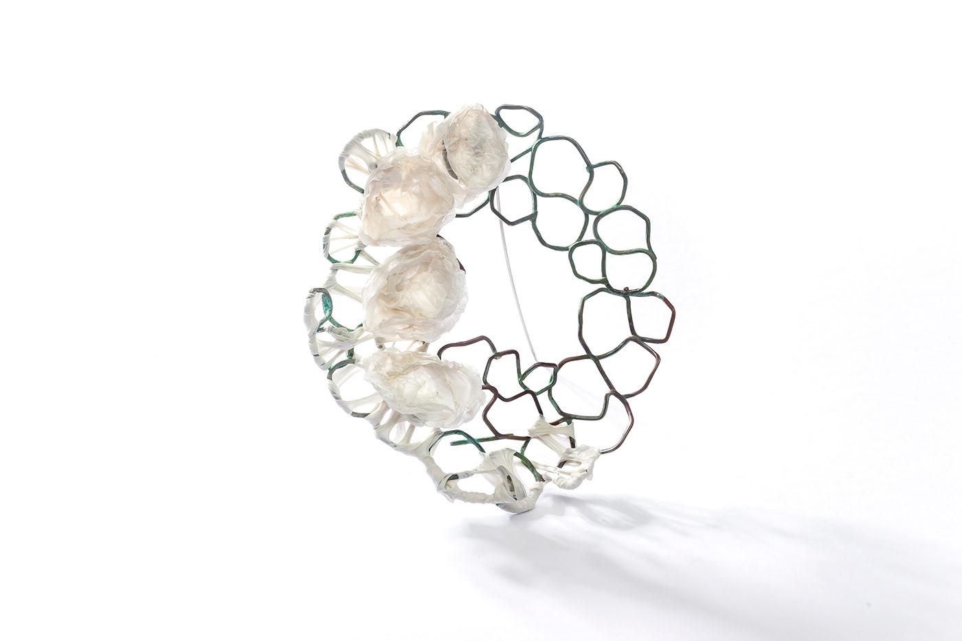 contemporary jewelery  contemporary jewelry joyeria Joyería contemporánea mabel pena plastic