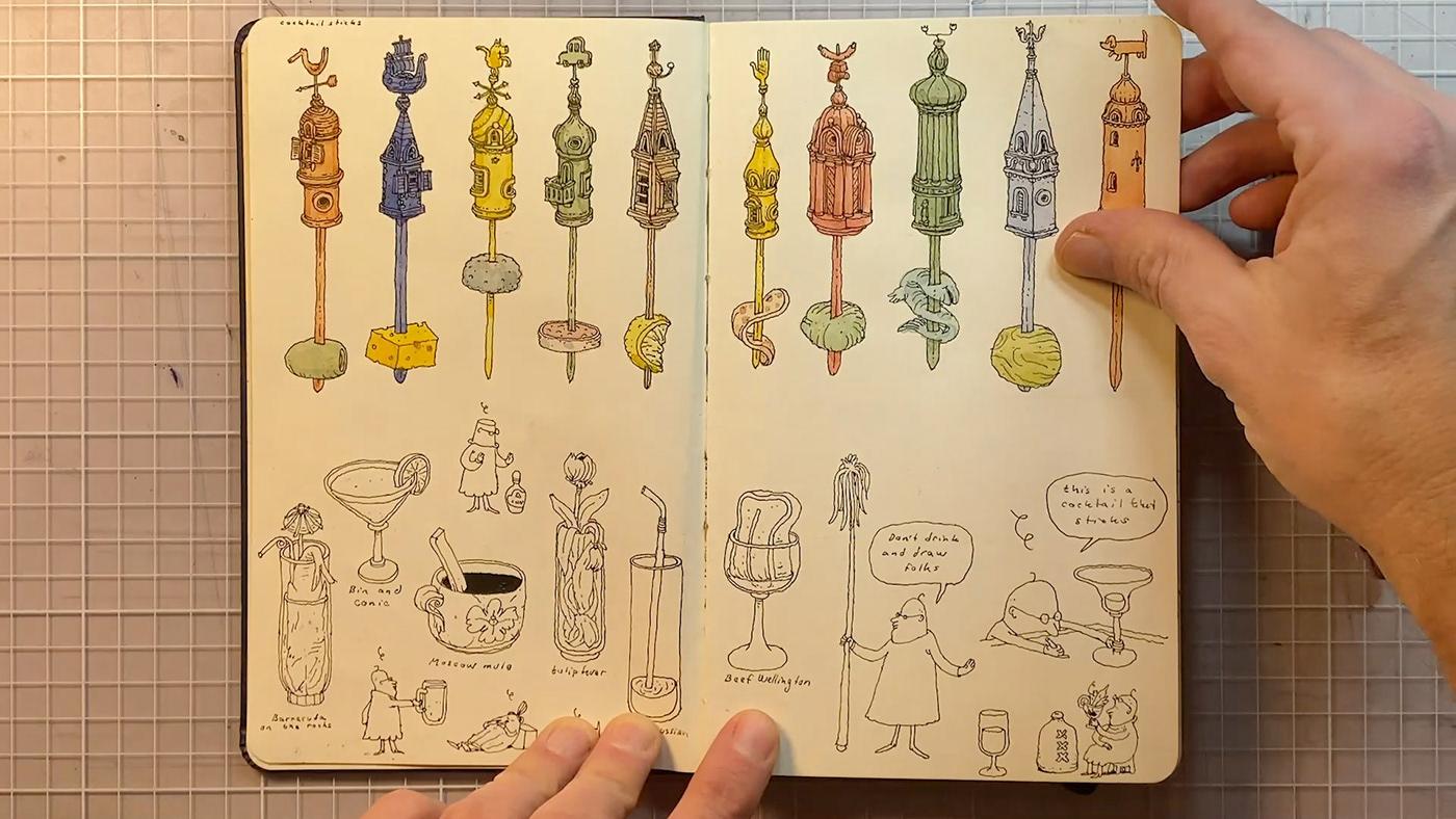 Image may contain: person, drawing and cartoon