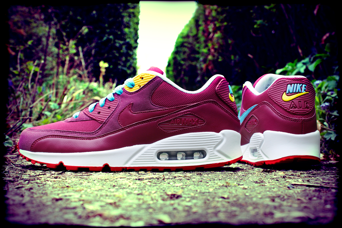 Parpadeo erección Tristemente  Nike Air Max 90 x 'Parra' Custom on Behance