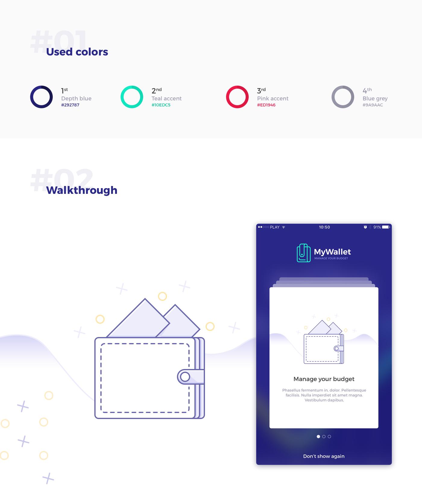 Mywallet Ui Design