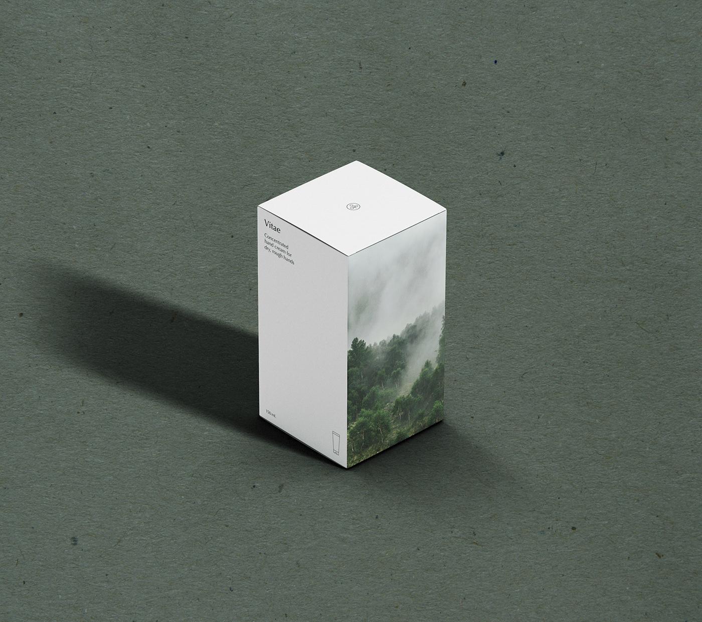 art direction  branding  Clean Design copywriting  cosmetics design graphic design  Landscape naming Packaging