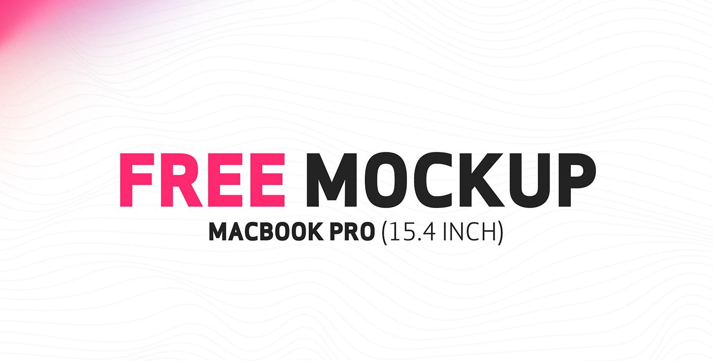 apple macbook macbook pro free Mockup graphic UI ux www Website