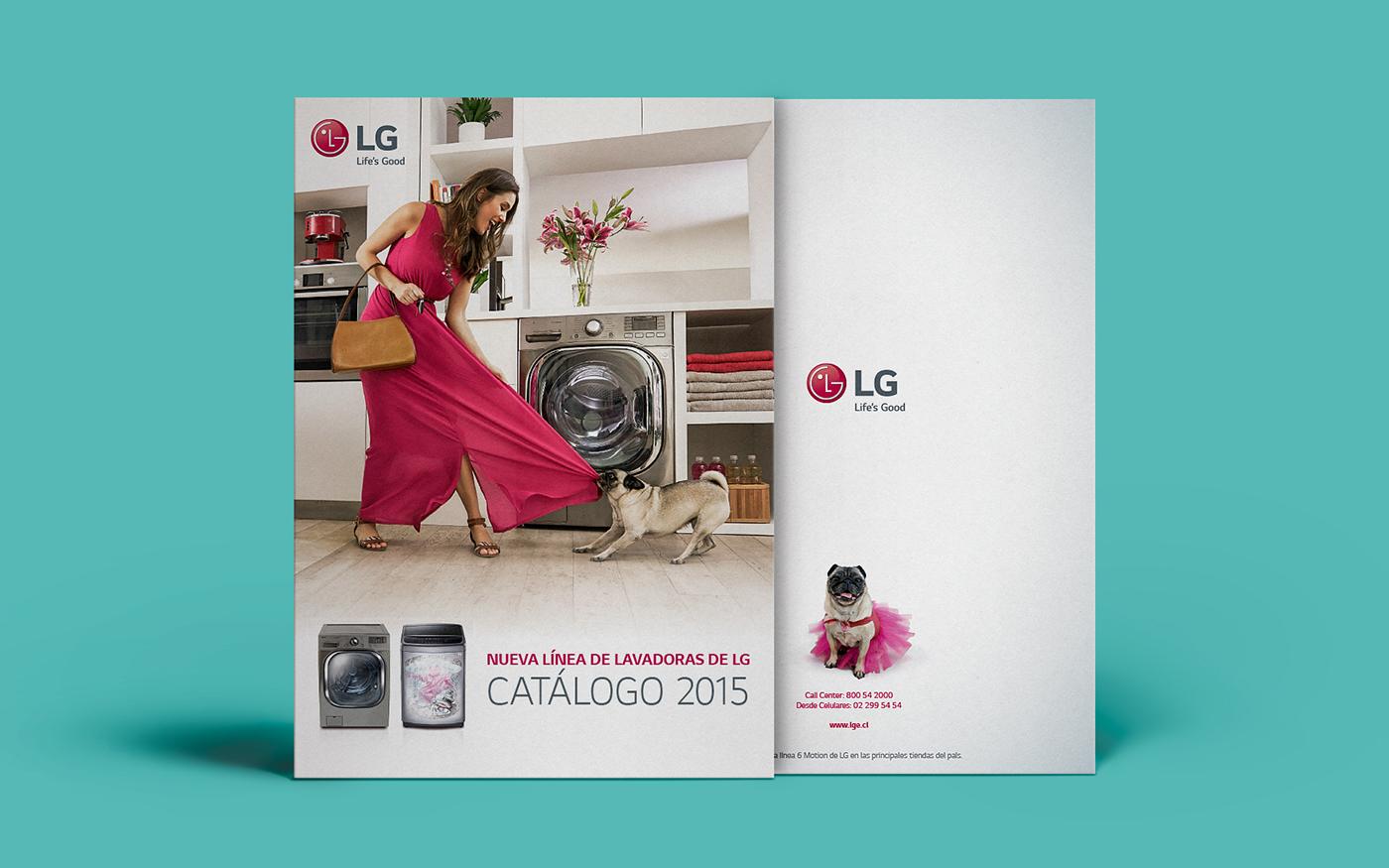 lg lavadora Washing machine Advertising  Spot carlino dog
