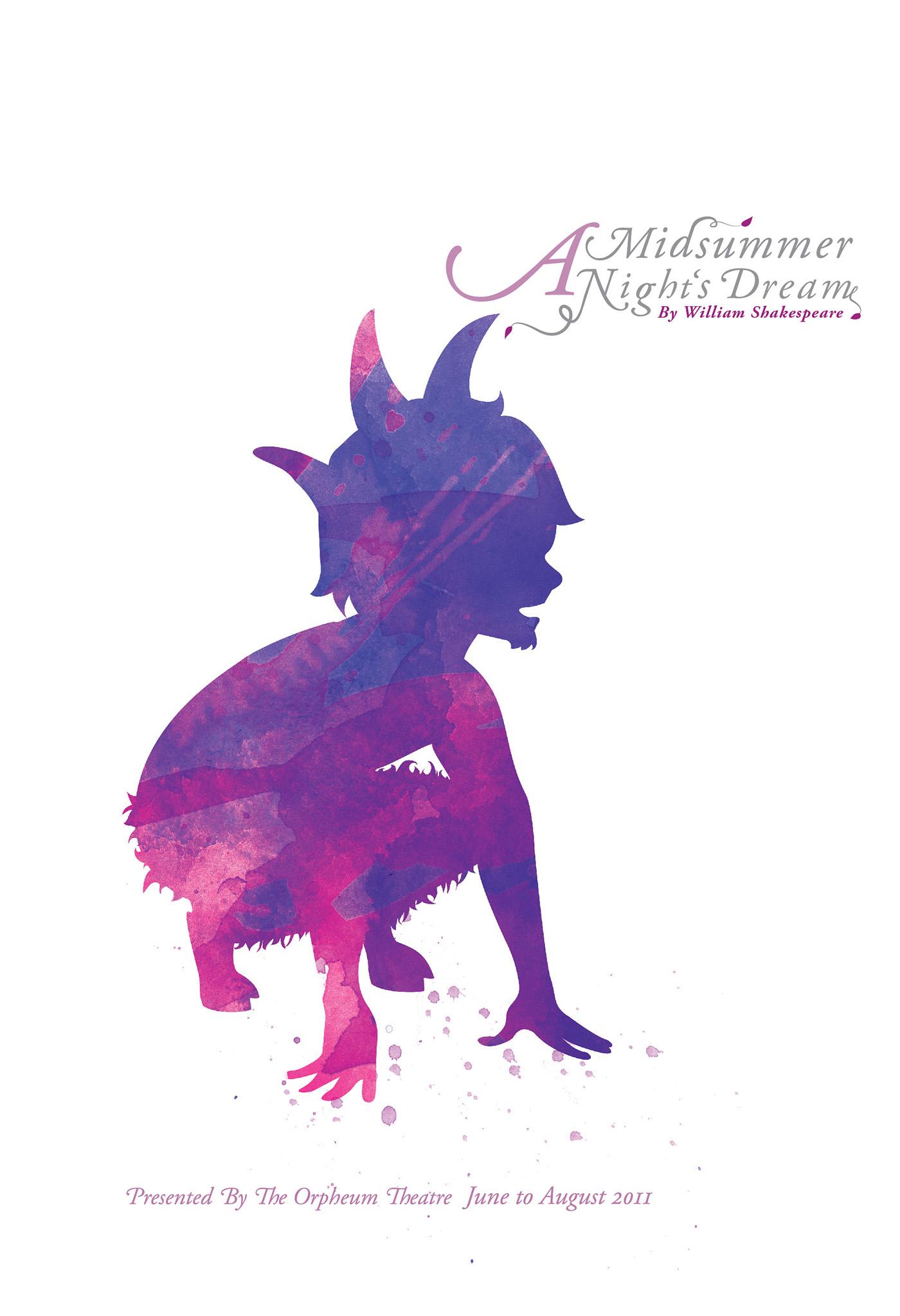 A Midsummer Night U0026 39 S Dream Poster Series On Behance