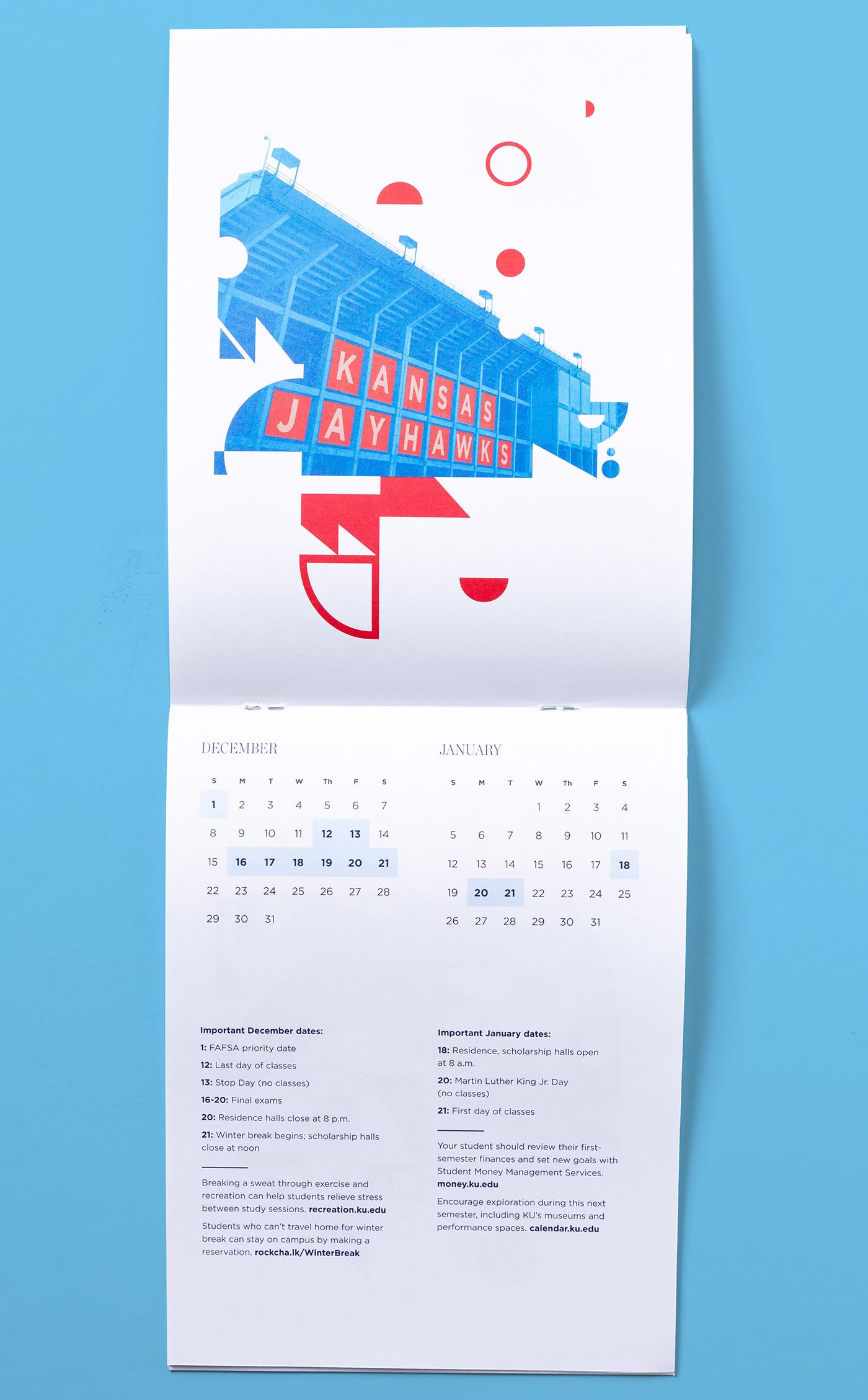 KU Orientation university of kansas jayhawks first year experience pattern mailer