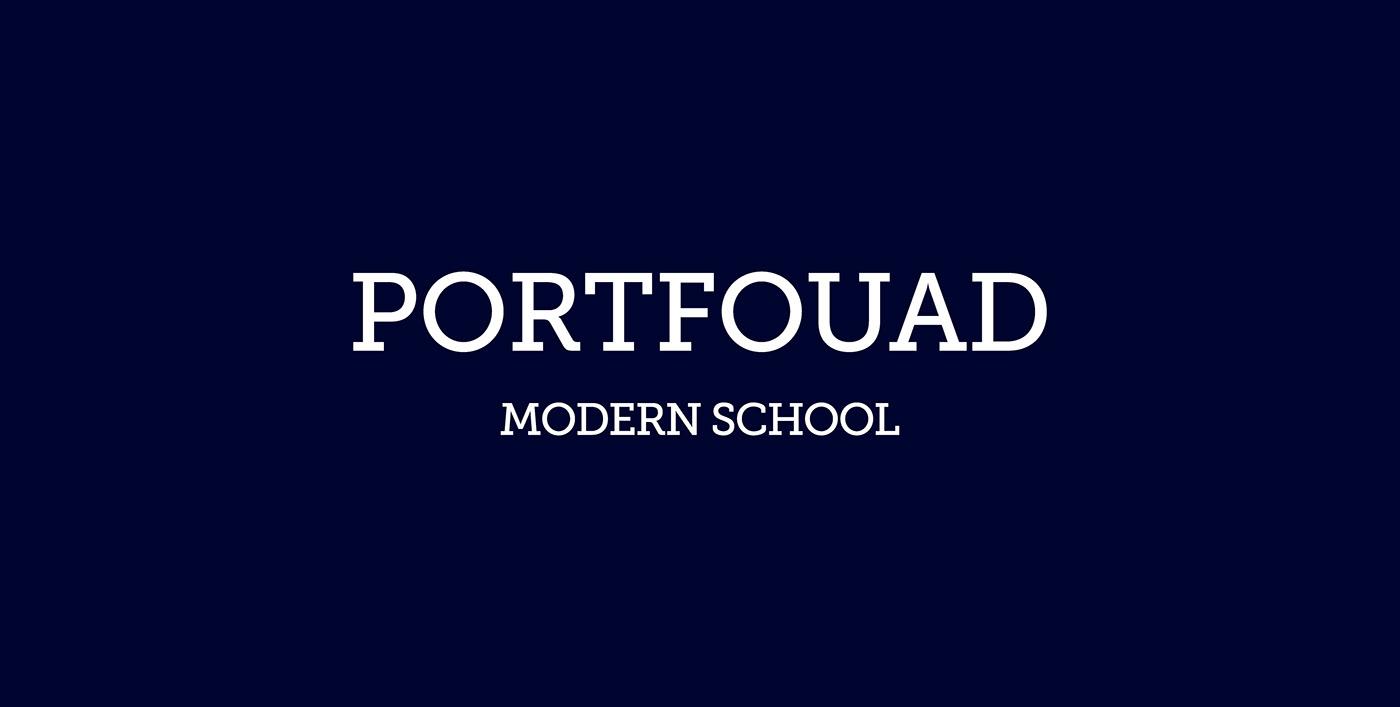 blue brand identity branding  corporate Education gold identity logo modern school