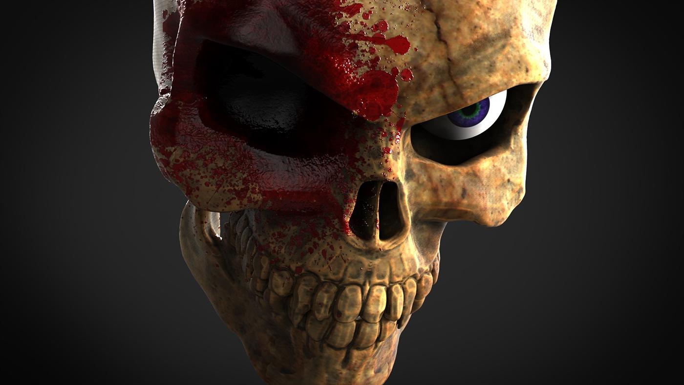 Sculptris keyshot bones