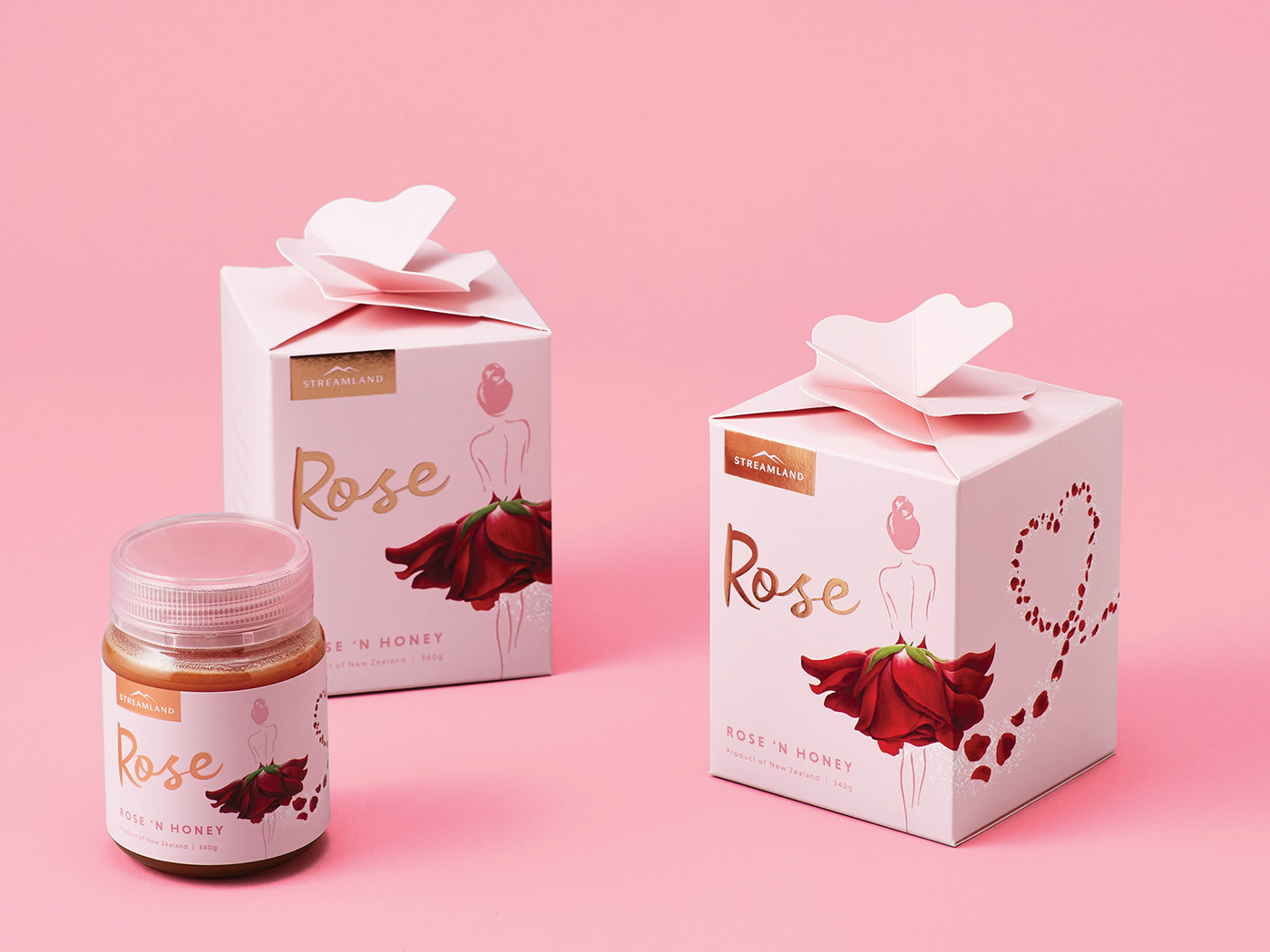 Streamland Rose Honey on Behance