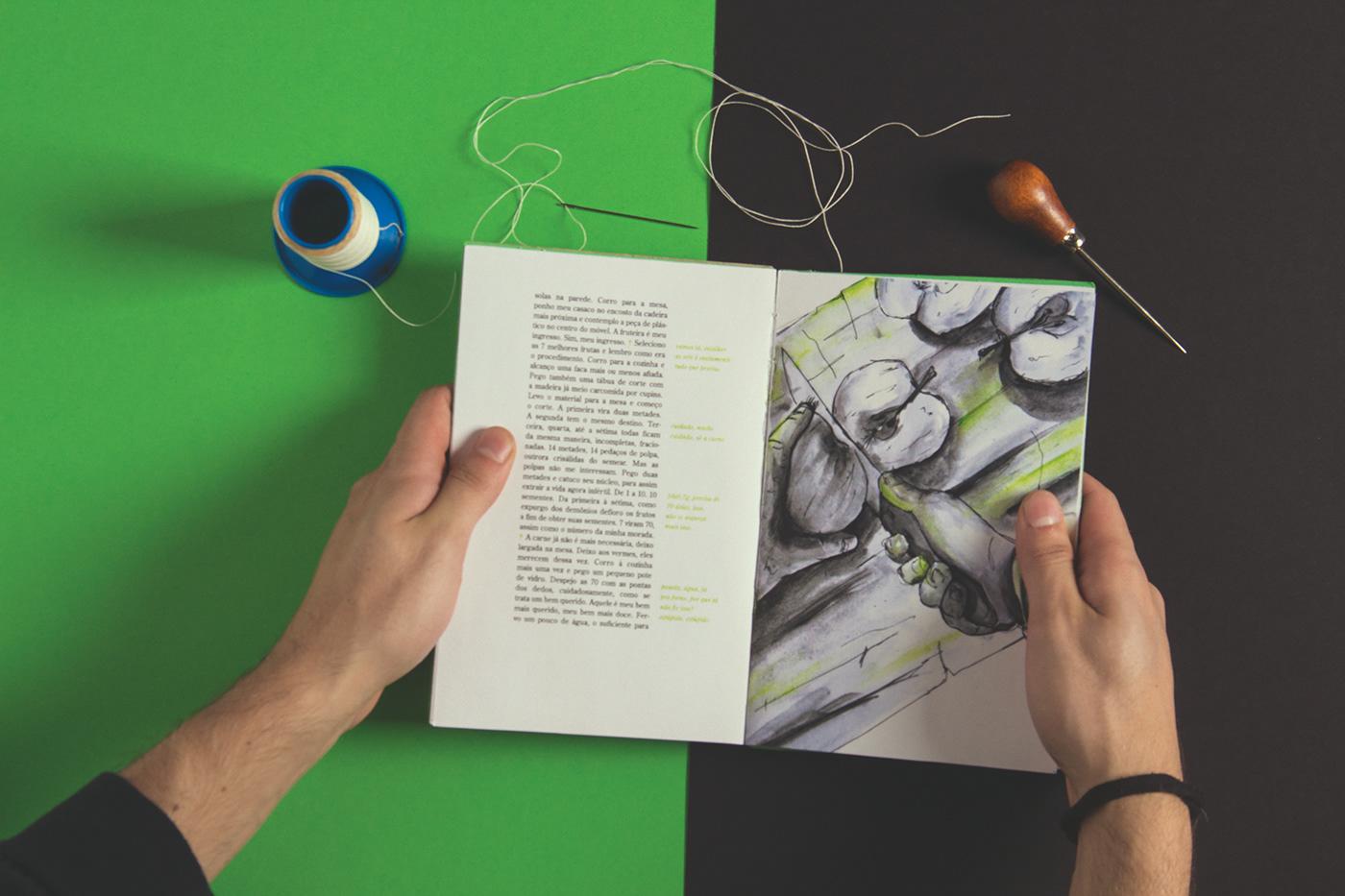 editorial experimental Livreto print